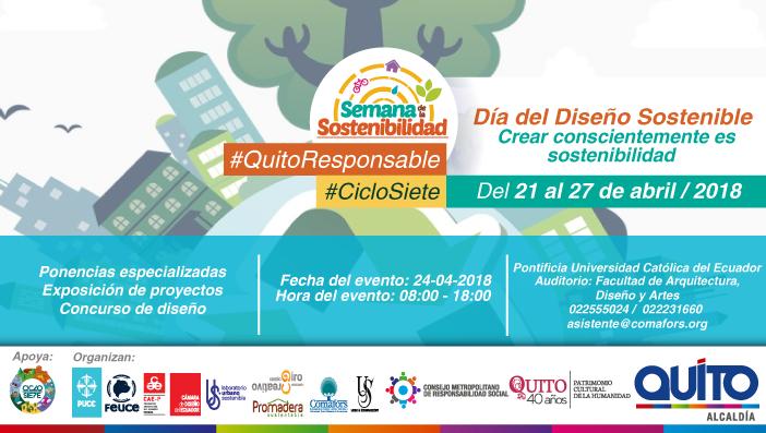 Agenda: Día del Diseño Sostenible-Semana de la Sostenibilidad