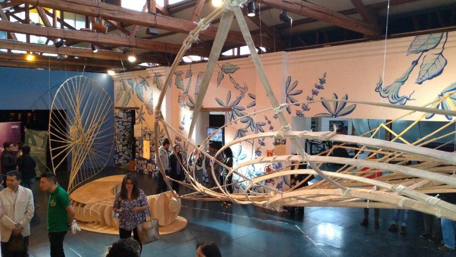 Presentación de estructura de madera en el Museo Interactivo de Ciencia