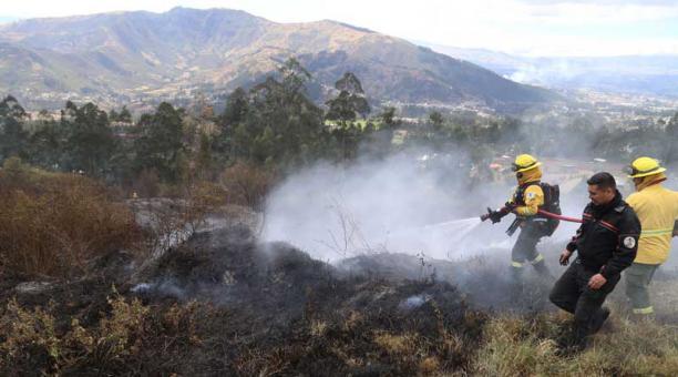 """La campaña """"Prevención de incendios forestales"""" realizada por COMAFORS y Ecuador Forestal fue de gran éxito en la ciudad"""