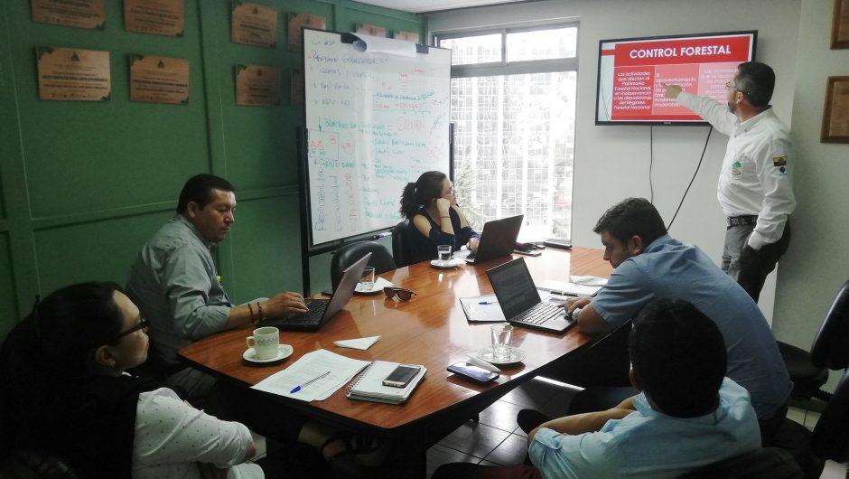La Corporación de Manejo Forestal Sustentable realiza talleres de actualización de la normativa ambiental forestal