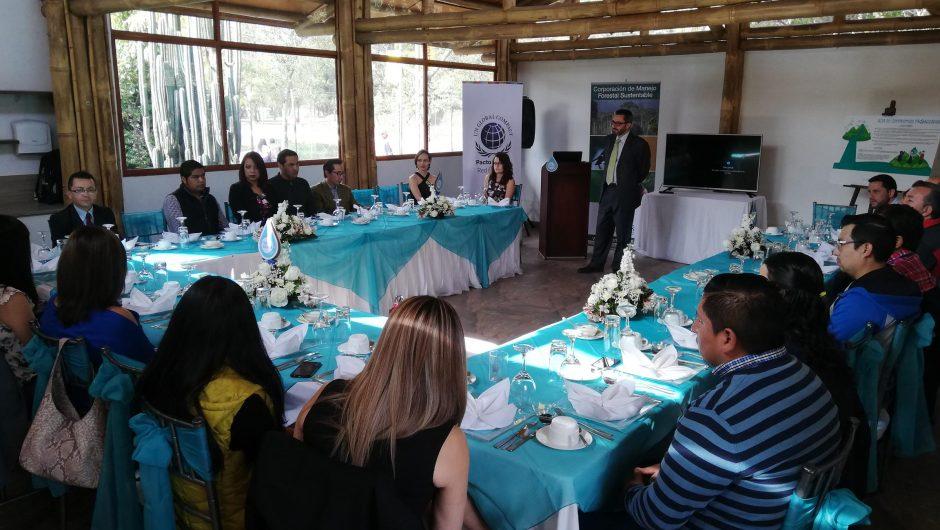 La Corporación de Manejo Forestal Sustentable junto con otros actores lanzaron la plataforma colaborativa Proaguaviva